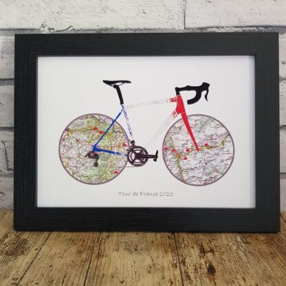Tour de France 2021 Print
